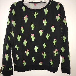 H&M cactus sweater